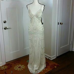 Night Way beaded dress